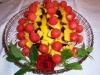 Obstplatte mit Mango und Mellone